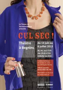 La Troupe de Serreaux-Dessus présente Cul Sec !